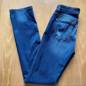 Judy Blue Straight Leg Distressed Jeans